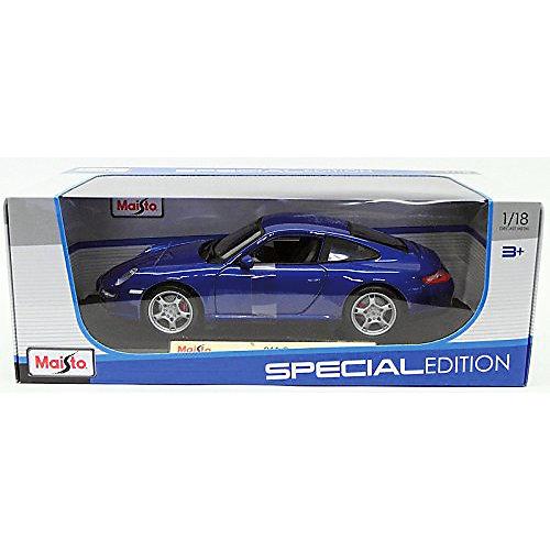 Машинка Maisto Porsche 911 Carrera S, 1:18 от Maisto
