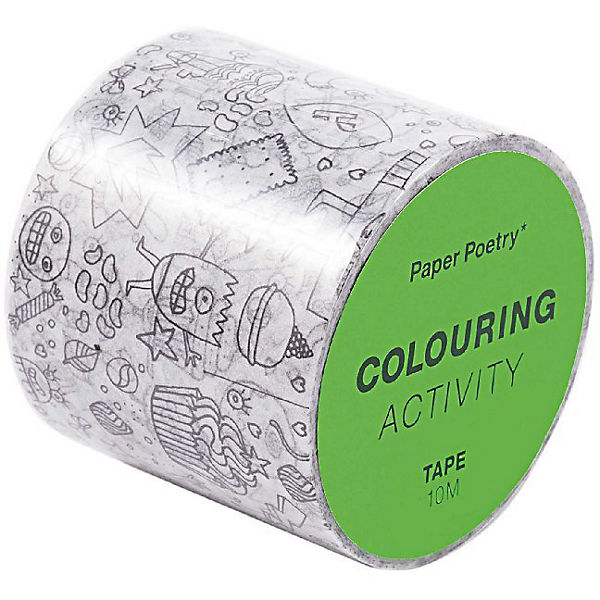 Tape Xl Colouring Activity, Monster