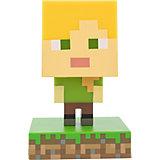 Светильник Paladone Minecraft Alex Icon Light