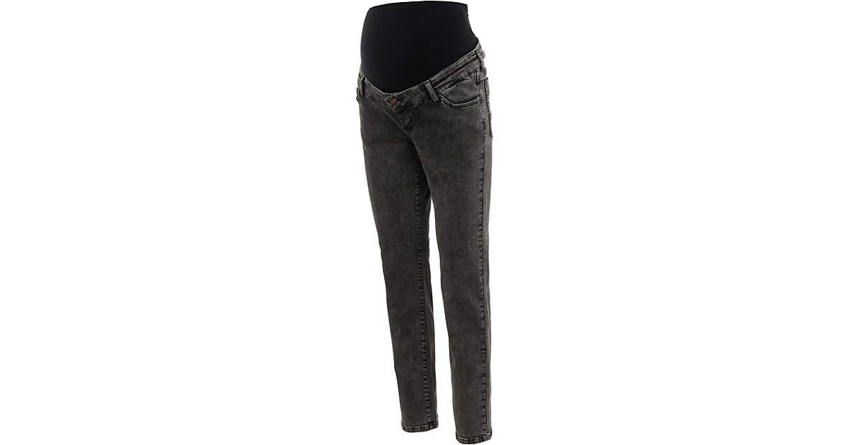 Umstandsjeans MLELKO black denim Gr. W30 Damen Kinder