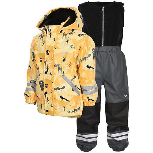 Комплект Lindberg: куртка и полукобинезон - желтый от Lindberg