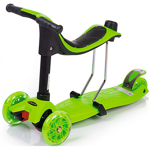 Трёхколёсный самокат-толокар Mobile Kid Multico от Baby Hit