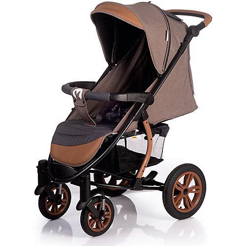 Прогулочная коляска Baby Hit Tribut, коричневая с серым от Baby Hit