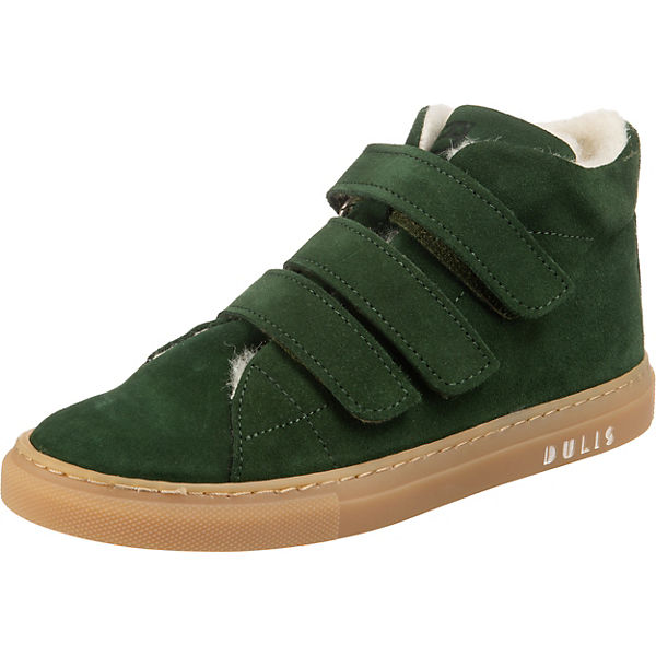 Velourleder Sneakers High gefüttert