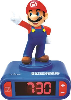 Radiowecker 3D Super Mario Design Digital, Super Mario