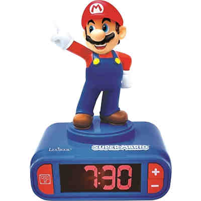 3D Super Mario Design Digital Radiowecker