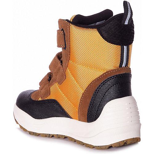 Утепленные ботинки Woden - черный/желтый от Woden