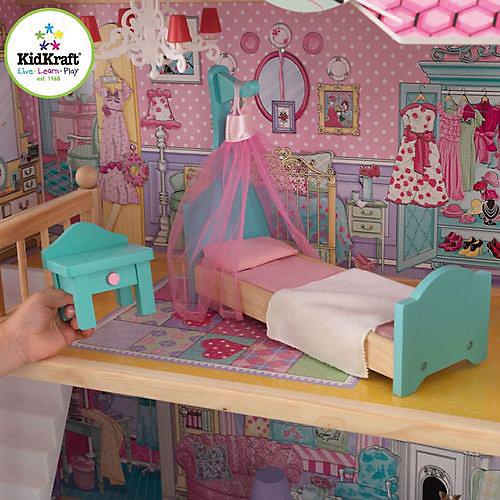 """Домик для кукол Барби KidKraft """"Аннабель"""" с мебелью, 17 предметов от KidKraft"""