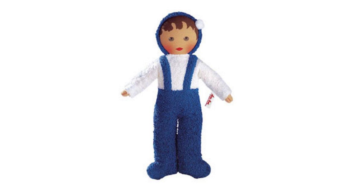 Frottee-Baby blau, 30cm
