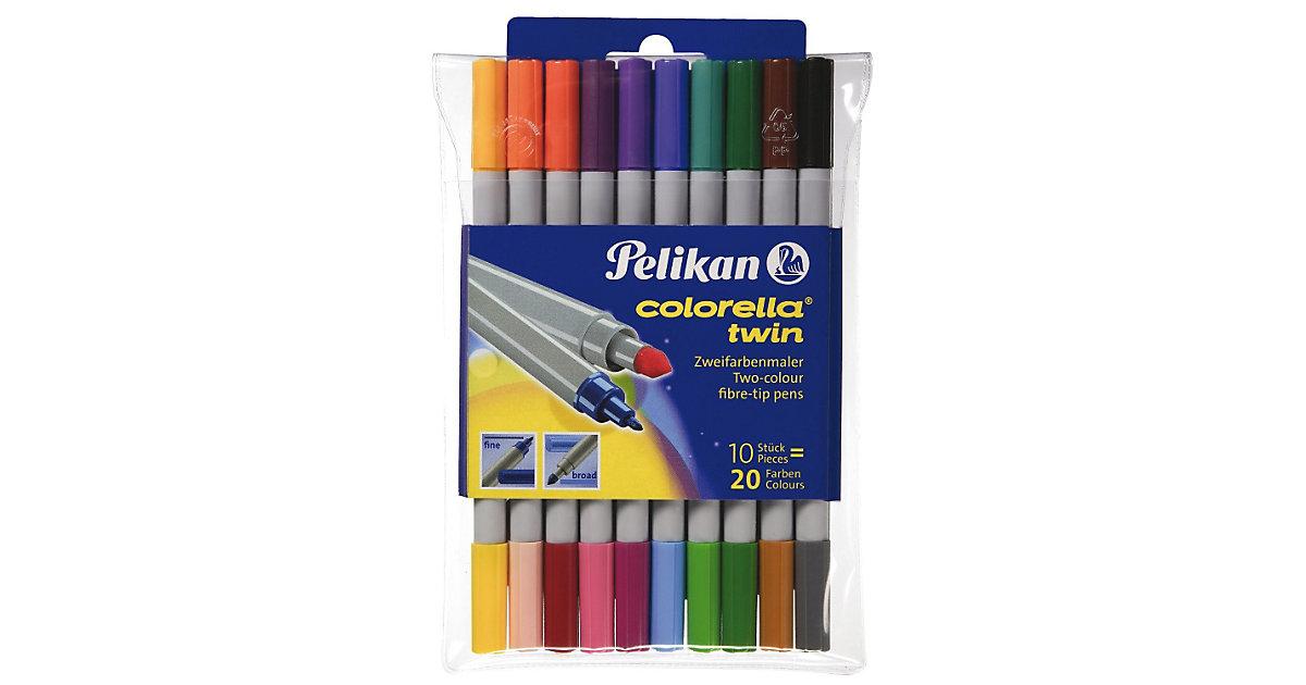 colorella twin Filzstifte 20 Farben