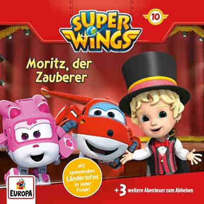 CD Super Wings 10 - Moritz, der Zauberer