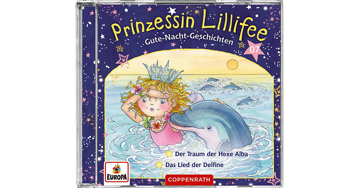 CD Prinzessin Lillifee - Gute-Nacht-Geschichten (CD 7) Hörbuch