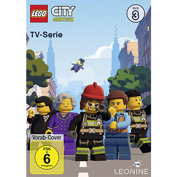 DVD LEGO City TV-Serie 3