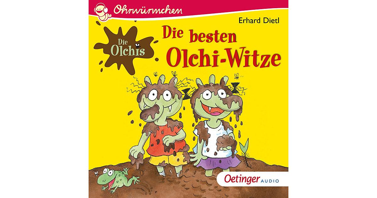 CD Ohrwürmchen Die besten Olchi-Witze Hörbuch