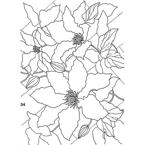 """Книга для творчества """"Цветы в акварели"""" от Издательство Контэнт"""