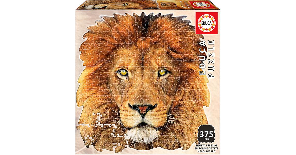 Shape Puzzle Lion Face, 400 Teile