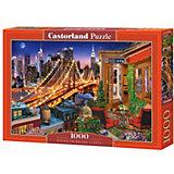 Пазл Castorland Огни Бруклинского моста, 1000 элементов