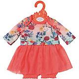 Платье Baby Born c шортиками для куклы 43 см, розовое