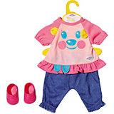 Костюмчик Baby Born Little Casual для куклы 36 см , голубой