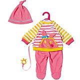 Костюмчик Baby Born Little Casual для куклы 36 см ,розовый