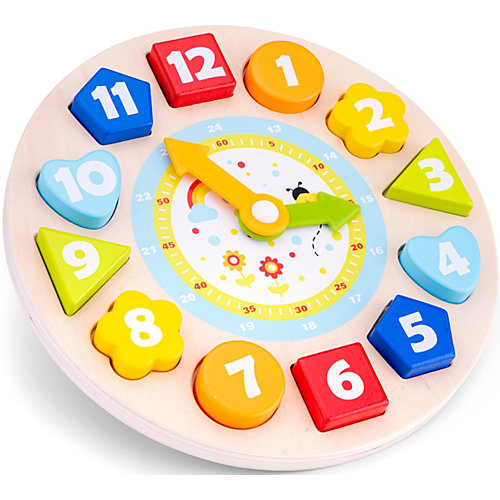 Часы-сортер New Classic Toys от New Classic Toys