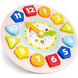 Часы-сортер New Classic Toys