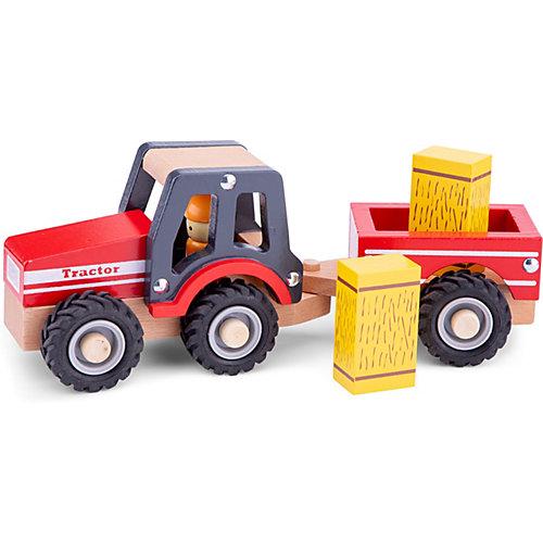 Трактор с прицепом New Classic Toys Сено от New Classic Toys