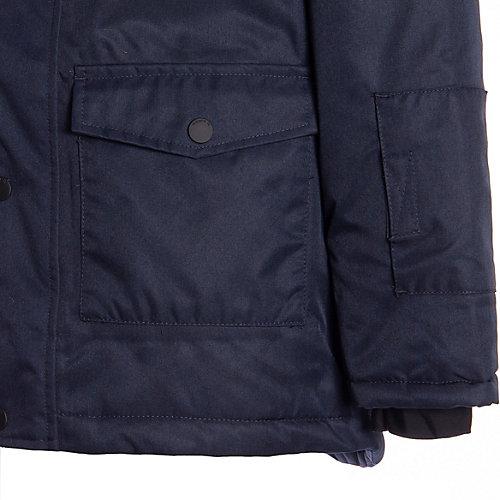 Утеплённая куртка Name it - темно-синий от name it