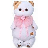 Мягкая игрушка Budi Basa Кошечка Ли-Ли с розовым бантом, 24 см