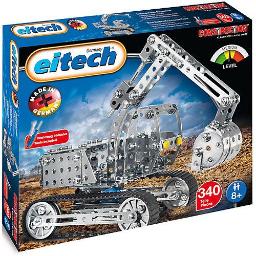 Конструктор Eitech Экскаватор, 340 деталей от eitech