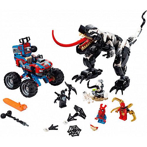 Конструктор LEGO Super Heroes 76151: Человек-Паук: Засада на веномозавра от LEGO
