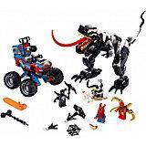 Конструктор LEGO Super Heroes 76151: Человек-Паук: Засада на веномозавра