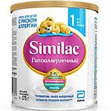 Молочная смесь Similac Гипоаллергенный 1, с 0 мес, 375 г