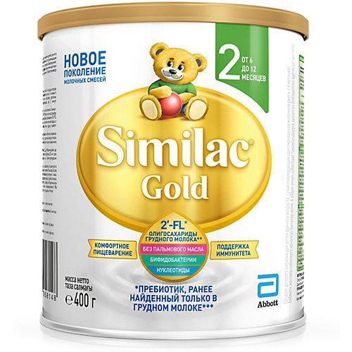 Молочная смесь Similac Gold 2, с 6 мес, 400 г от Similac