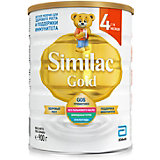 Молочная смесь Similac Gold 4, с 18 мес, 900 г