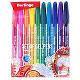 Набор гелевых ручек Berlingo Triangle gel, 10 цветов