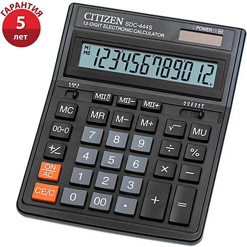 Настольный калькулятор Citizen SDC-444S - черный от Citizen