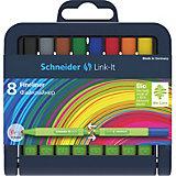 Набор капиллярных ручек Schneider Link-it, 8 цветов