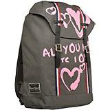Рюкзак Bruno Visconti Влюблённые сердца, 40х47х14,5 см