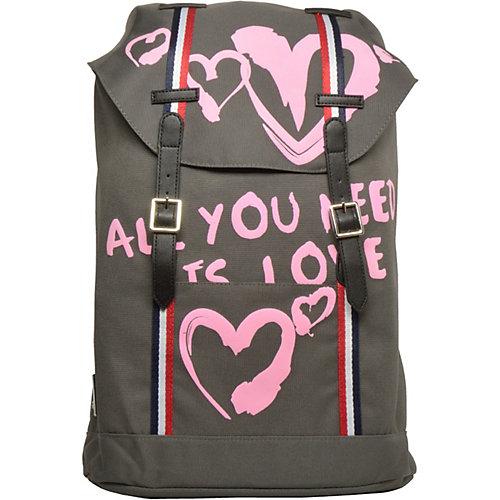 Рюкзак Bruno Visconti Влюблённые сердца, 40х47х14,5 см от Bruno Visconti