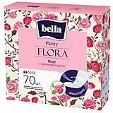 Ежедневные прокладки Bella Panty Flora Rose 70 шт, с ароматом розы