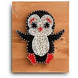Набор для творчества String Art Lab Пингвин, 30х21 см