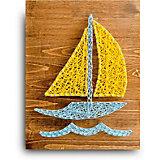 Набор для творчества String Art Lab Кораблик, 30х21 см