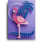 Набор для творчества String Art Lab Фламинго, 30х21 см