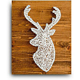 Набор для творчества String Art Lab Олень, 30х21 см