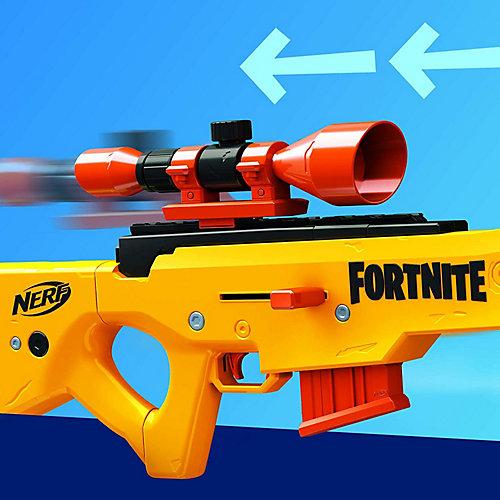 Бластер Nerf Fortnite BASR-L с 12 патронами от Hasbro