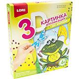 Аппликация для малышей с пайетками Lori Лягушка