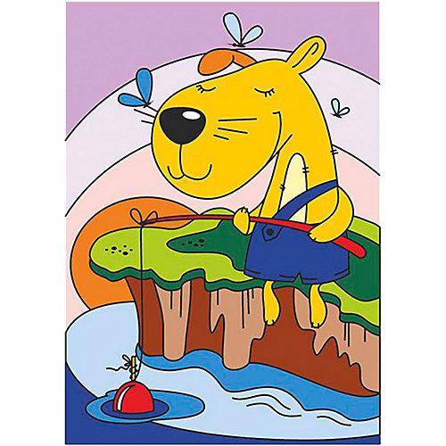 Картина по номерам Lori Смелый рыбак от LORI (16186709 ...