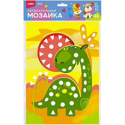 Увлекательная мозаика Lori Весёлый динозавр от LORI