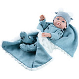 Кукла Paola Reina Baby Мальчик с одеялком, 32 см